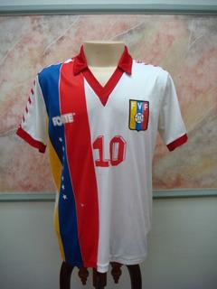 Camisa Futebol Venezuela Seleção Forte Jogo Antiga 1034