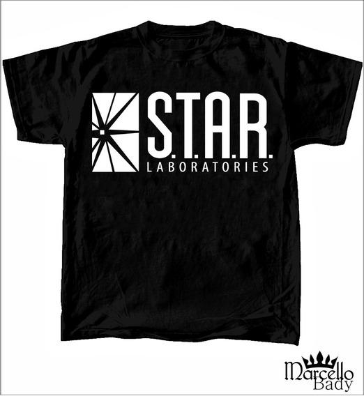 Kit Camiseta Flash Laboratorios Star 114 1 Adulto 1 Infantil
