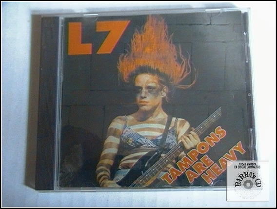 L7 - Tampons Are Heavy ( Bootleg ) ( Uk )