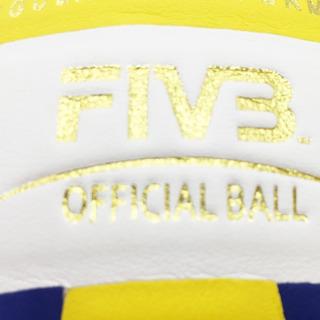 Bola Voleibol Mikasa Oficial Size Pu Mvb2200 Super Gold
