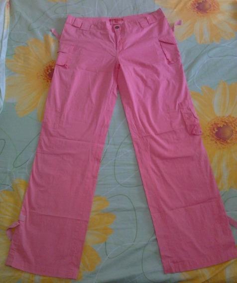 Pantalon Casual Rosado De Dama Talla Plus 13/14 En 8 Verdes