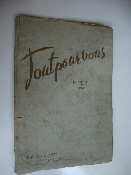 Revista Tout Pour Vous De Moda Inverno 1941
