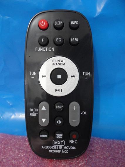 Controle Remoto Mini System Som Lg Akb36638215 Rad125 Fa164