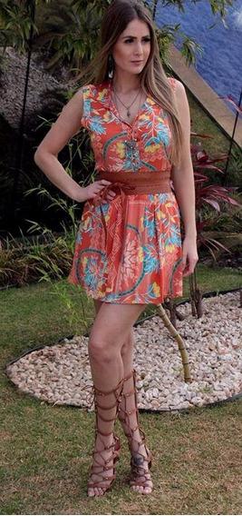 Vestido Maria Poa Tam Unico