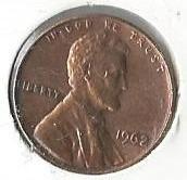 1 Cts. Estados Unidos 1.962
