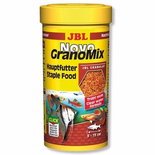 Ração Para Peixes Jbl - Novo Granomix - 115g
