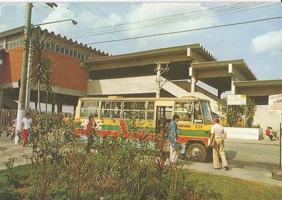 Qcv-3145 - Postal Guarulhos, S P - Praça Antonio Menk