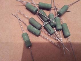 Lote Com 10 Resistores Fio 390r Por 5 Watts