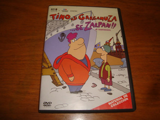 Tino Y Gargamuza Se Zarpan!! Dvd