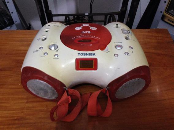 Rádio Toshiba Am/fm Estéreo Com Cd Tr7046+i