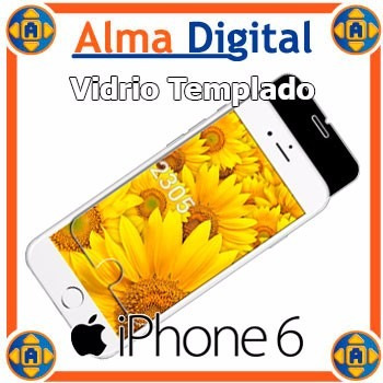 Protector Vidrio Templado Lámina Antigolpe Apple iPhone 6