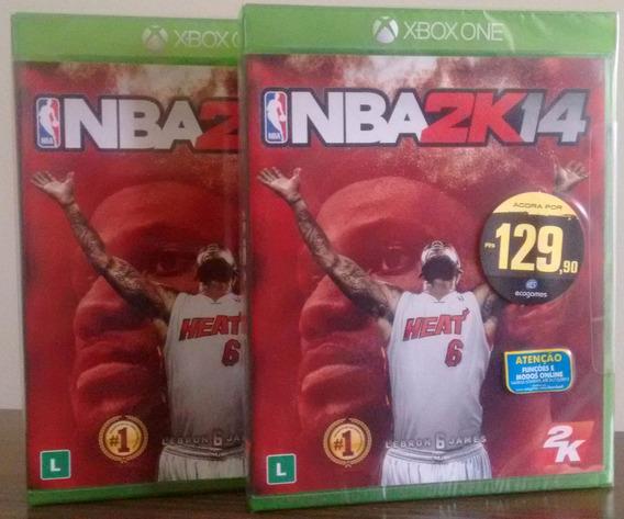 Nba2k14 Xbox One Mídia Física Novo Lacrado