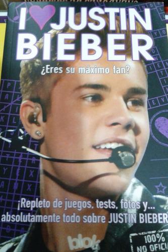Libro I Love Justin Bieber