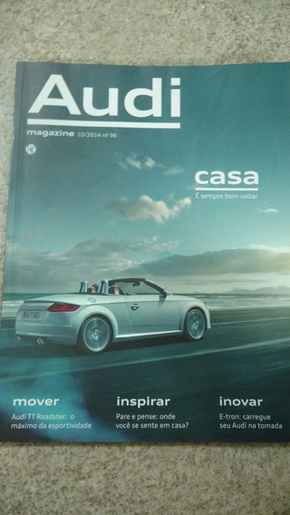 Revista Audi Magazine Outubro 2014. A3 Sedan Tt Roadster