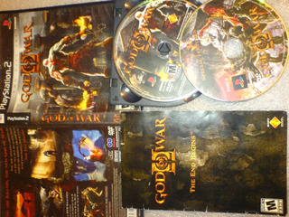 God Of War 2 De Play2 De Super Lujo Completisimo Wsl