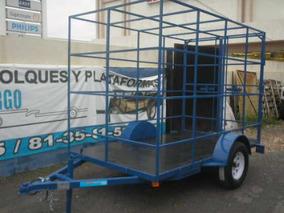 Remolque Jaula Camioneta Camiones Contenedor