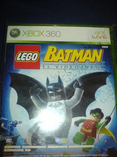Batman Lego El Videojuego De Xbox 360