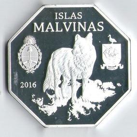 Malvinas - 100 Pesos 2016 - Acabado Brillante
