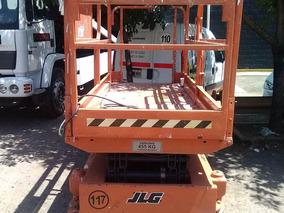 Plataforma Tipo Tijera Eléctrica Jlg 2046e Alt De Trab 8.00m