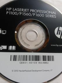 Cd De Driver Impressora Hp Laserjet Prof. P1100/p1560/p1600