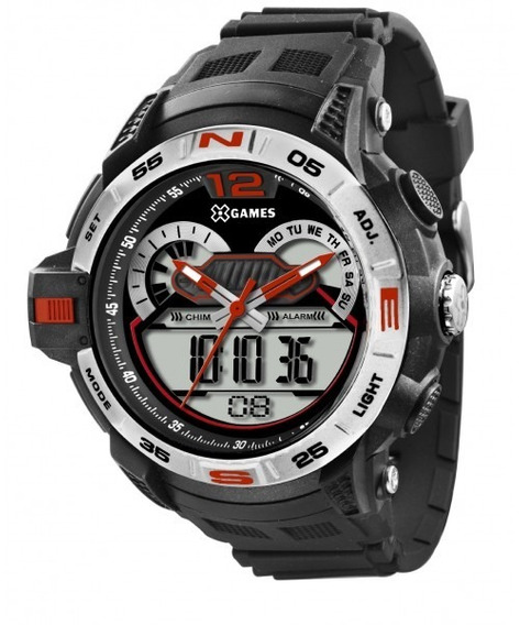 Relógio Masculino X Games Esportivo Xmppa146p2px Novo