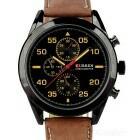 Moda Relógio De Quartzo Curren 8156 Dos Homens - Black + Bro