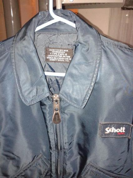 Schott Flyers Jacket Cwu-45 - Made In U.s.a - Large