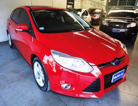 Ford Focus Iii 2.0 Se Plus Automatico 2014 Rojo ¡¡ Nuevo !!