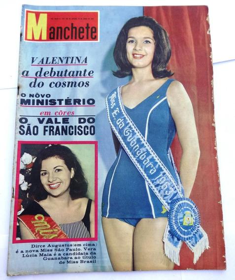 Manchete Nº 584: Miss Guanabara - Miss São Paulo - Le Mans