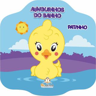 Livro Infantil Amiguinhos Do Banho Patinho Livro De Banho
