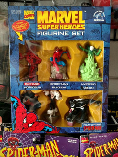 Marvel Super Heroes Spider-man Carnage Figurine Set C10