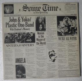 Lp Duplo John Lennon E Yoko Ono Plastic Band - 1972