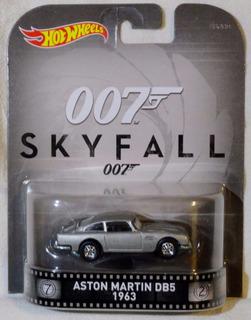 Hot Wheels Retrô 007 Skyfall 63 Aston Martin Db5 James Bond