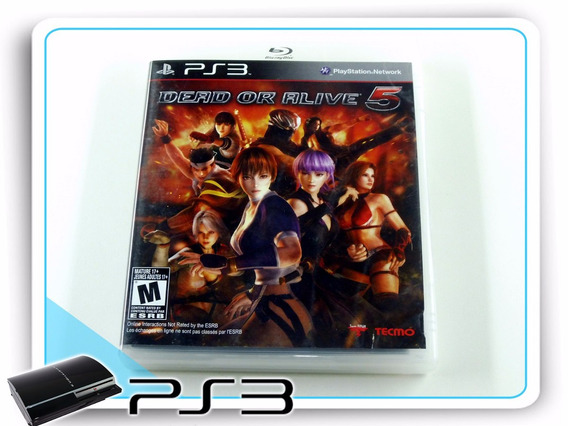 Ps3 Dead Or Alive 5 Original Playstation 3