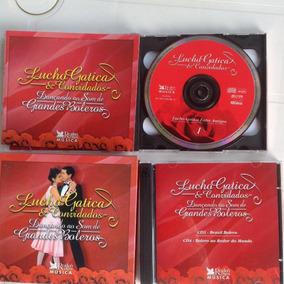 Cd Lucho Gatica Dançando Ao Som De Grandes Boleros-cd 1,3e 4