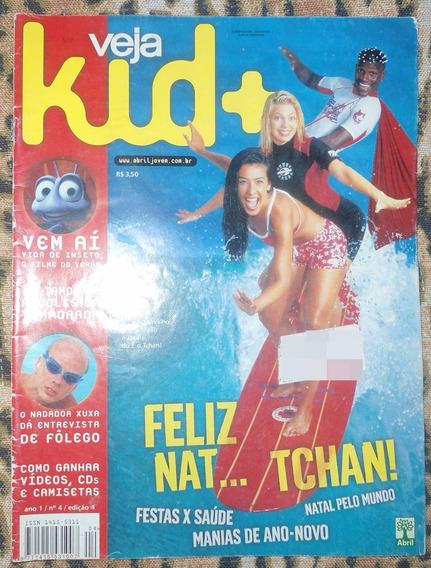 Revista Veja Kid + Com É O Tchan, Sandy E Junior Usada