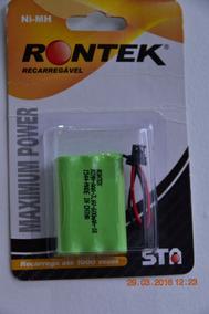 Bateria Rontek - 3xaaa - Multiuso 3,6v - 600 Mah - Nova