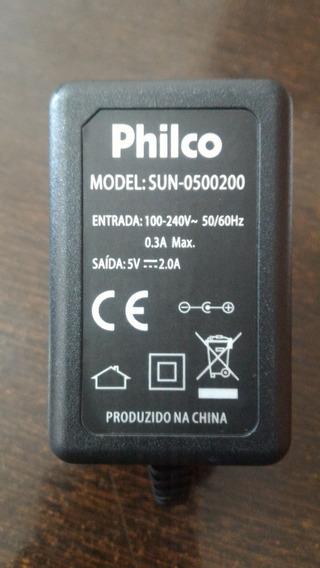 Carregador Para Notebook Philco Pino Fino 5v 2.0a