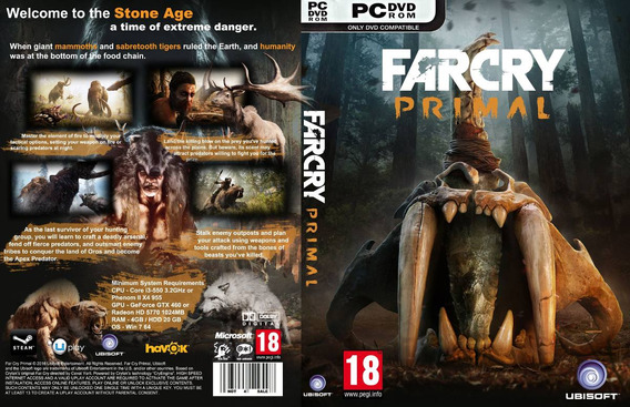 Far Cry Primal + 2 Brindes - Pc - Dvd