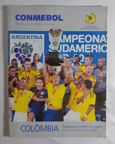 Conmebol Revista Futebol Colômbia Argentina N°136