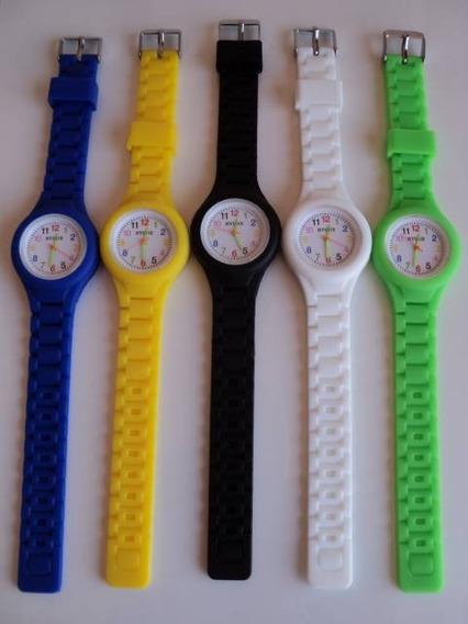 5 Relógios Unisex, Silicone, Esportivo, 150,00+ Frete Grátis