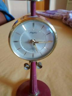 Reloj Antiguo A Cuerda Forma De Farol C/alarma