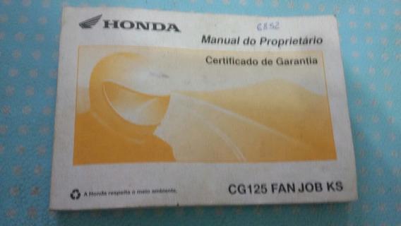 Manual Cg 125 Fan Job Ks
