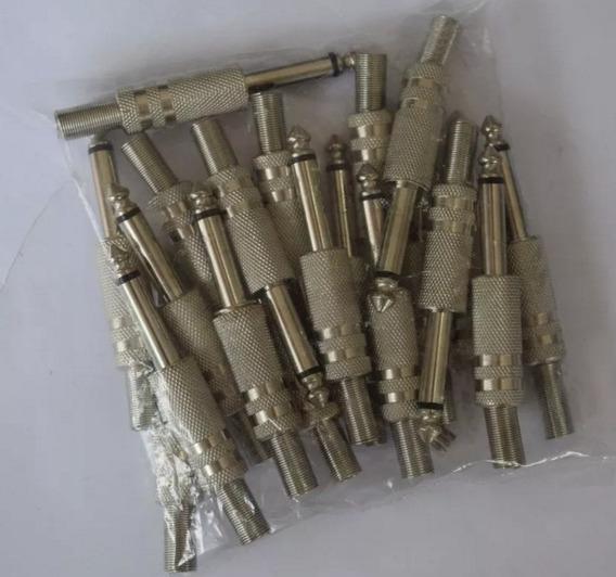 Kit 20 Plugues P10 Mono Csr Isolamento Fenolite Uw-2002a