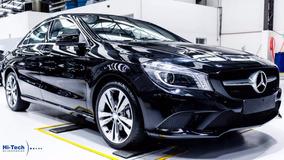 Mercedes-benz Cla 200 Blindado Hi-tech 2017