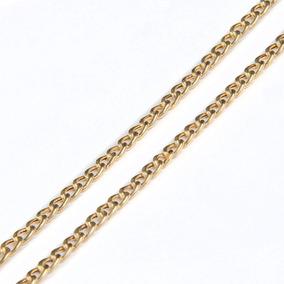 Corrente Em Ouro 18k Groumet 69cm