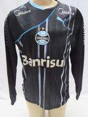Camisa Gremio Puma Manga Longa - Camisas de Times de Futebol no ... f0ec7abc033a3