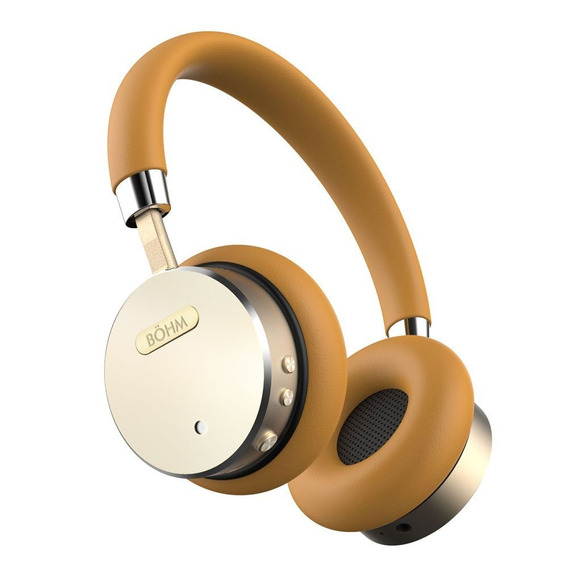 Audifonos Böhm Bluetooth Wireless Noise Cancel Oro