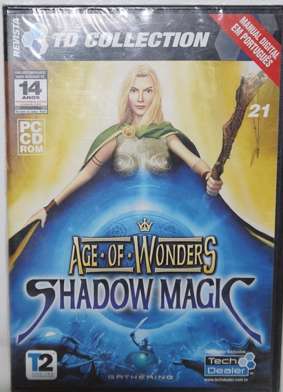 Age Of Wonders Shadow Magic Jogo Pc Original Lacrado