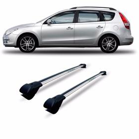 Travessa Rack Hyundai I30 Cw Perua Aluminio Larga Prata